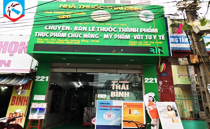Hệ thống nhà thuốc Thái Bình - Hải Dương